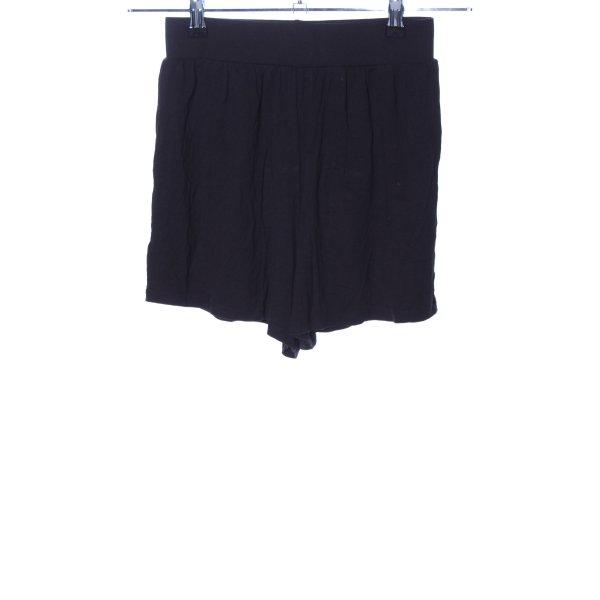 Asos Hot Pants schwarz Casual-Look