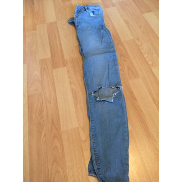 Asos Jeans destroyed ripped skinny