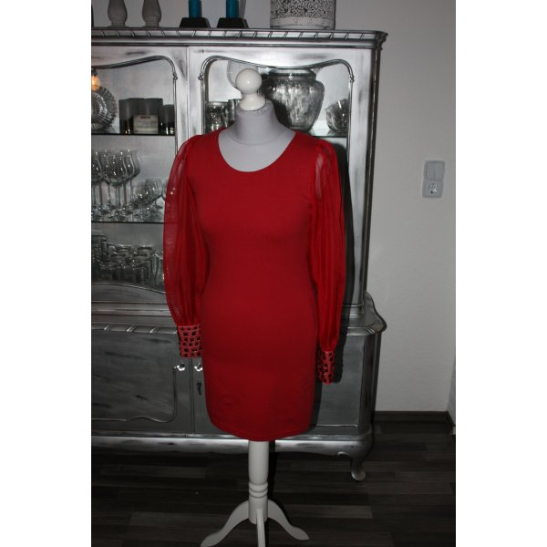 ASOS Kleid Abendkleid Etuikleid 36 rot