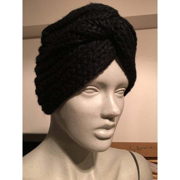 Asos Chapeau en tricot noir