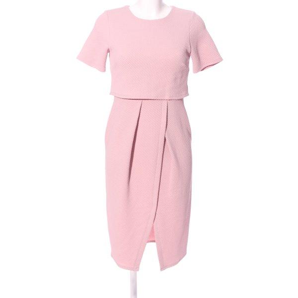 Asos Kurzarmkleid pink Business-Look