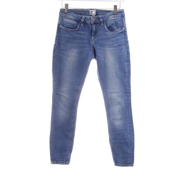 Asos Skinny Jeans blau Casual-Look