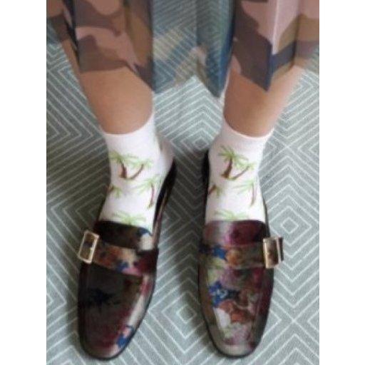 Asos Socken Set Palmen Flamingos