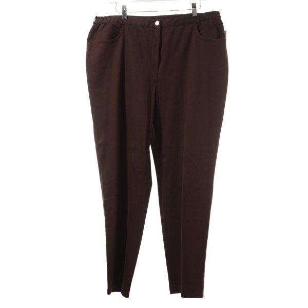 Atelier Creation Stoffen broek bruin casual uitstraling