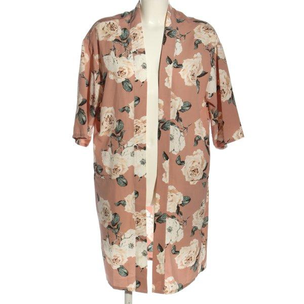 Atmosphere Kimono Blumenmuster Casual-Look