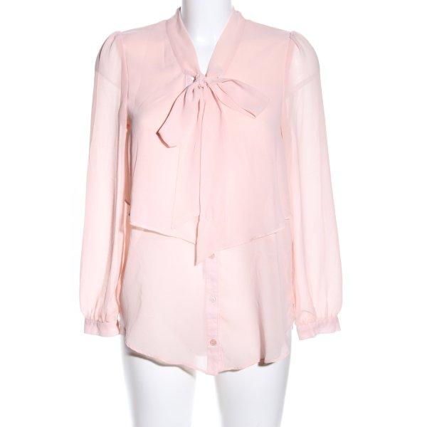 Atmosphere Langarm-Bluse pink Elegant