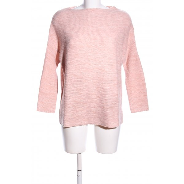 Atmosphere Strickpullover pink meliert Casual-Look