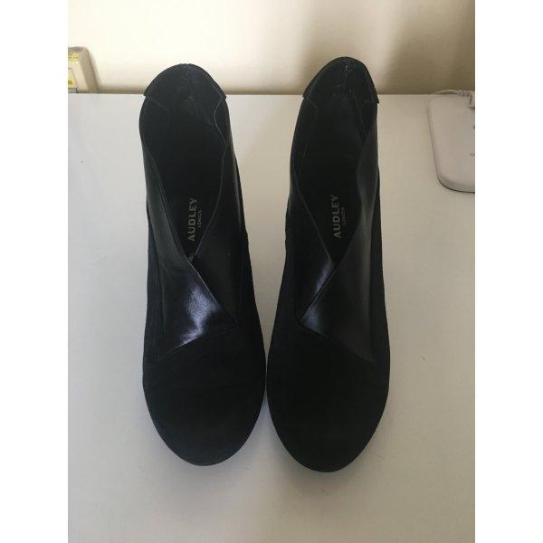 Audley Low boot noir cuir