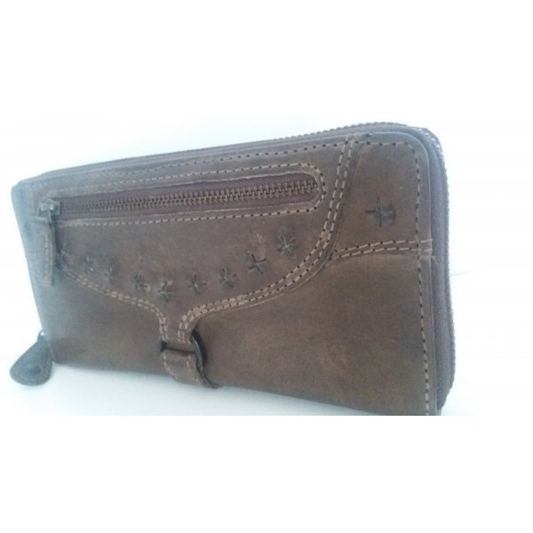 aunts & uncles Wallet dark brown leather