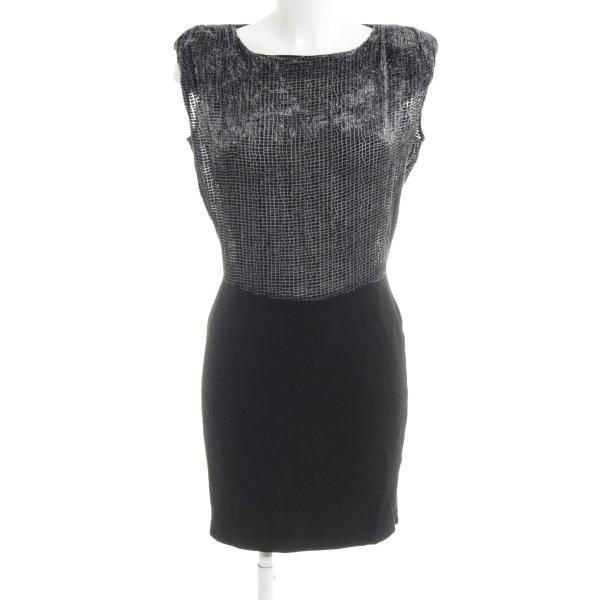 Axara Etuikleid grau-schwarz Elegant