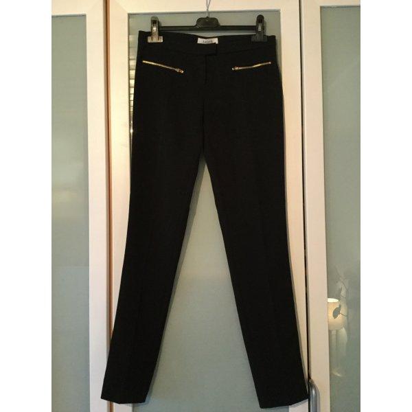 Axara Pantalone jersey nero-oro