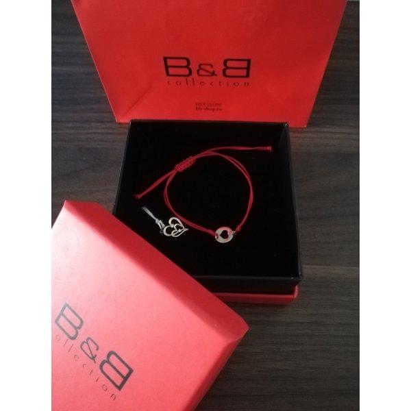 B&B Gold Anhänger Armband