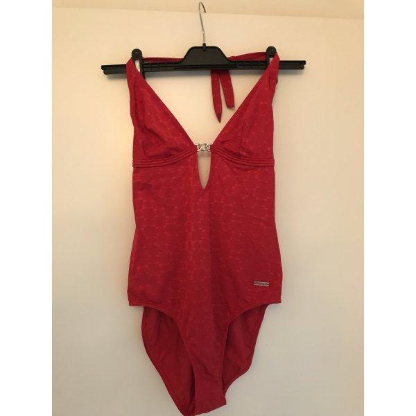 Triumph Traje de baño rojo ladrillo