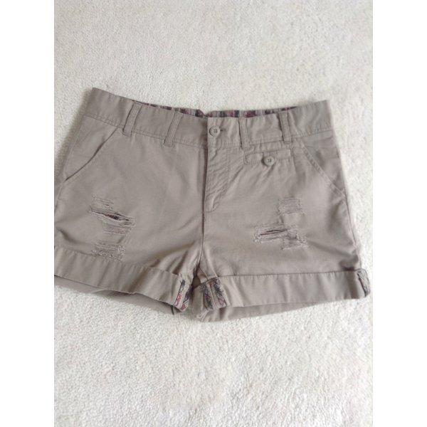 Baggy-Shorts / Gr. 34 / beige
