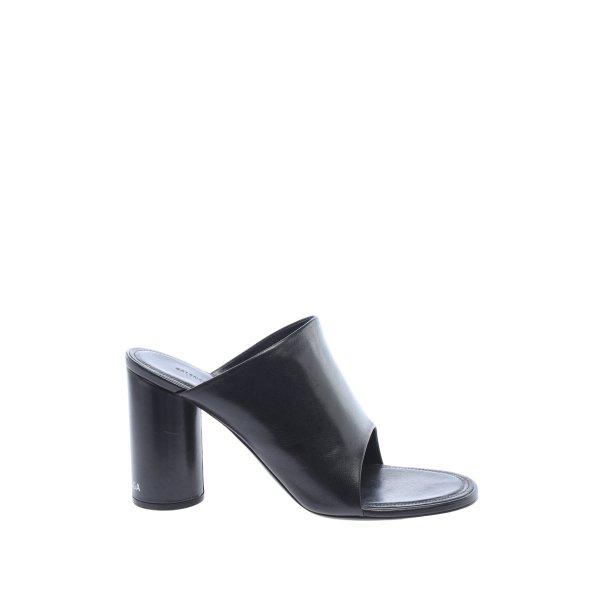 Balenciaga Absatz Pantoletten schwarz Casual-Look