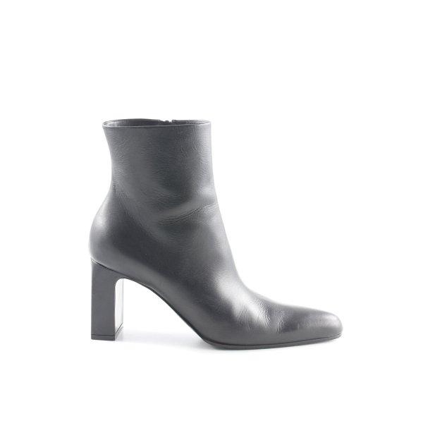 Balenciaga Reißverschluss-Stiefeletten schwarz schlichter Stil