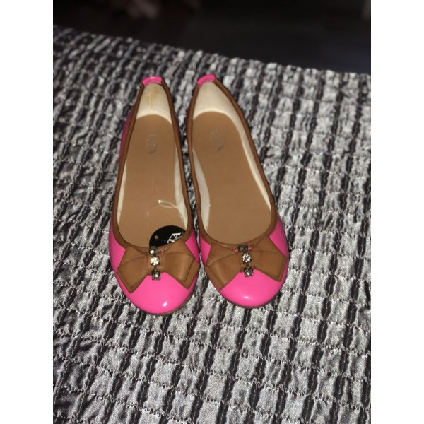 Patent Leather Ballerinas pink