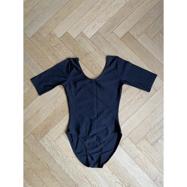 Ballettrikot Schwarz Poly-Elasthan Mix Größe 34-36