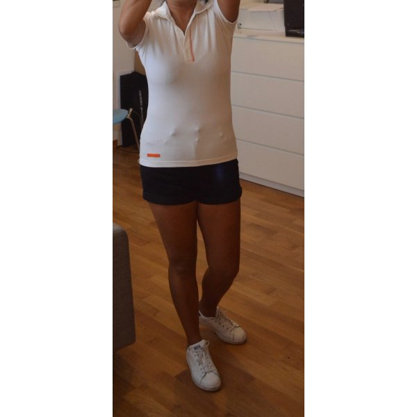Bally Golf Poloshirt in weiß Gr.36