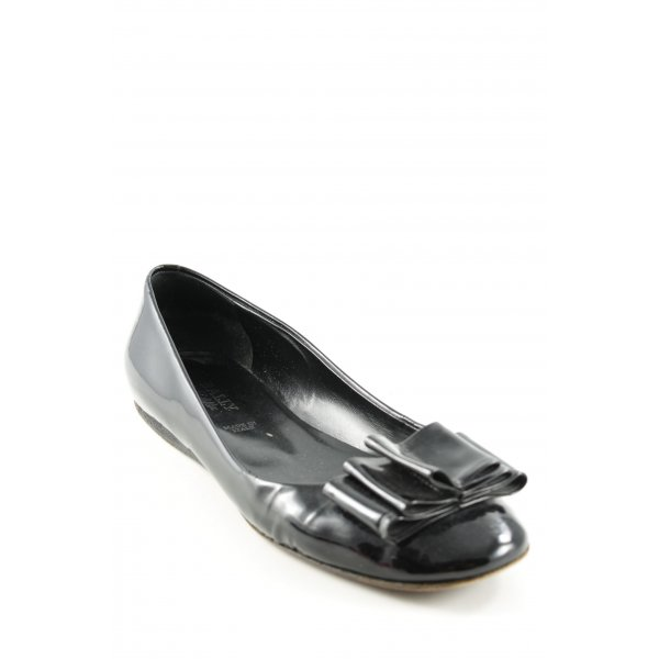 Bally Patent Leather Ballerinas black casual look