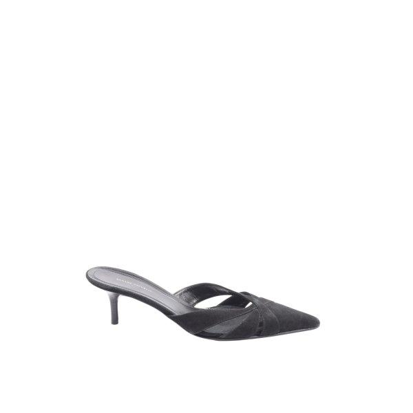 Banana Republic High Heel Sandaletten schwarz Casual-Look