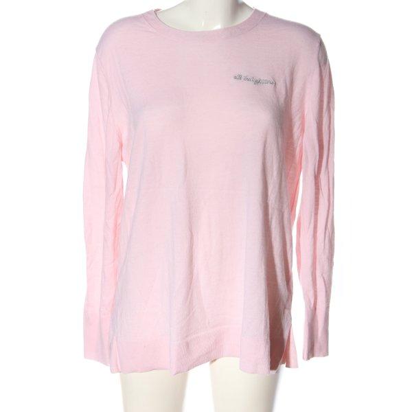 Banana Republic Wollpullover pink Casual-Look