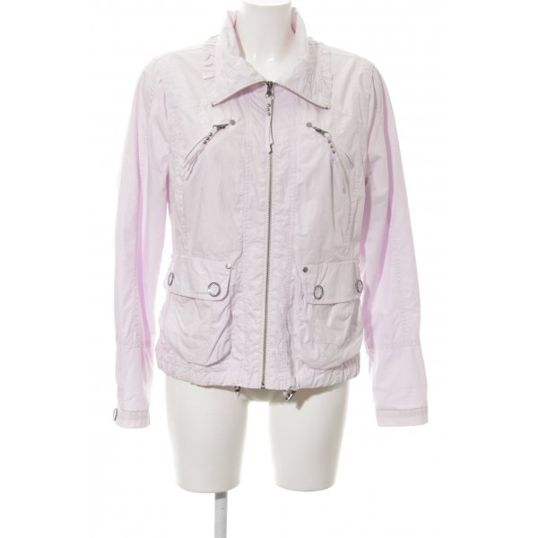 Bandolera Übergangsjacke rosé Casual-Look