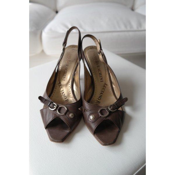 Barachini Schuhe mit schöner Schlaufenverzierung