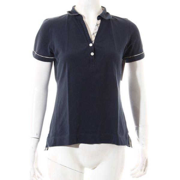 Barbour Polo-Shirt dunkelblau sportlicher Stil