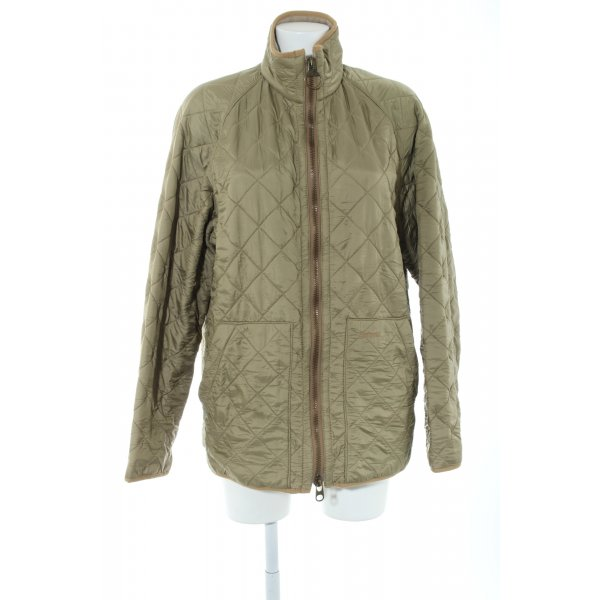 Barbour Steppjacke khaki Steppmuster Casual-Look