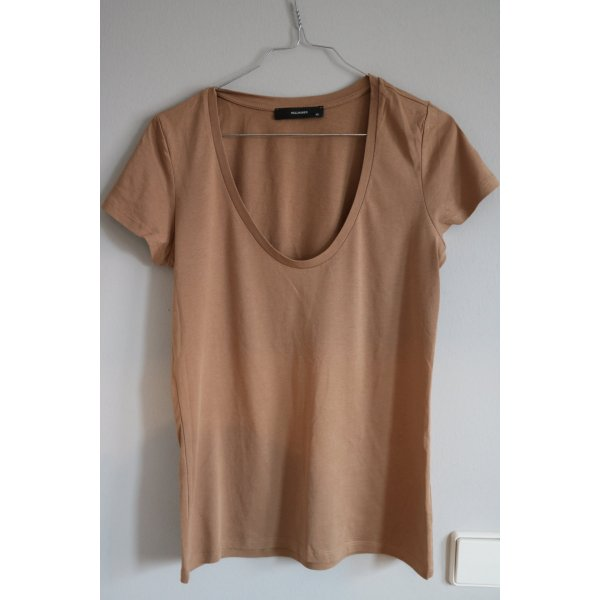 Basic- Halbarm- T-Shirt -Top von Hallhuber