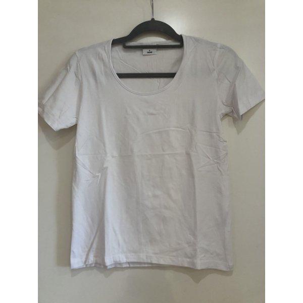 Basic T-Shirt weiß, Gr. S 36/38, Elle Nor
