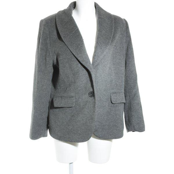 Basler Woll-Blazer grau Business-Look