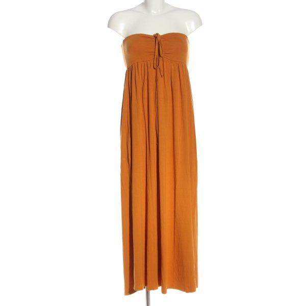 Batik schulterfreies Kleid