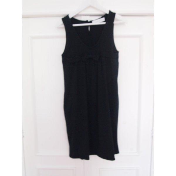 Baumwollkleid Kleid Trägerkleid Schwarz Wollkleid ZARA Mum