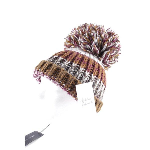 BCBG Maxazria Chapeau en tricot multicolore style décontracté