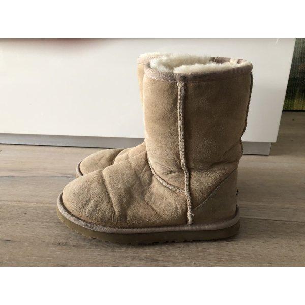 Beige UGG Boots