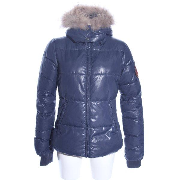 Bel Air Winterjacke blau Casual-Look