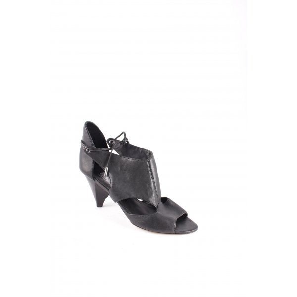 Belle by Sigerson Morrisson Strapped High-Heeled Sandals black