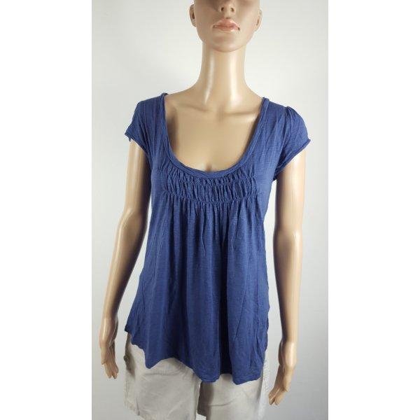 Bellybutton Long Shirt dark blue viscose