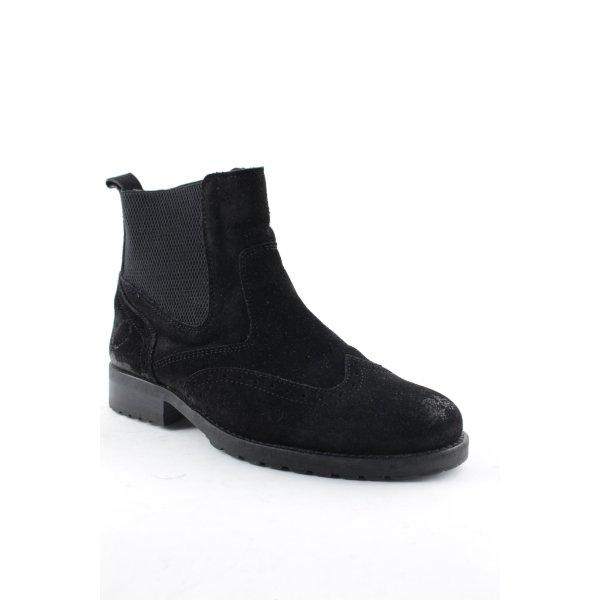 Belmondo Chelsea laarzen zwart klassieke stijl