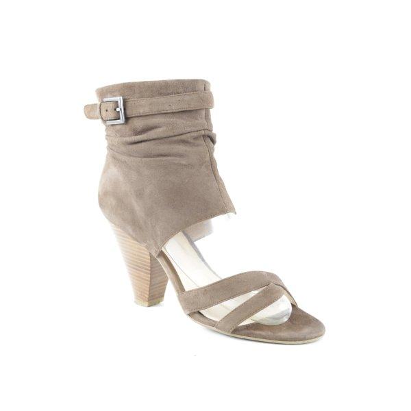 Belmondo High Heel Sandaletten braun Elegant