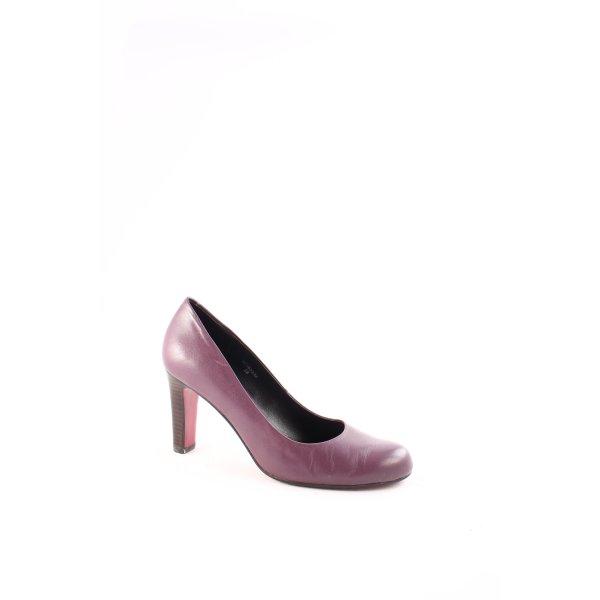 Belmondo High Heels lila-braun klassischer Stil