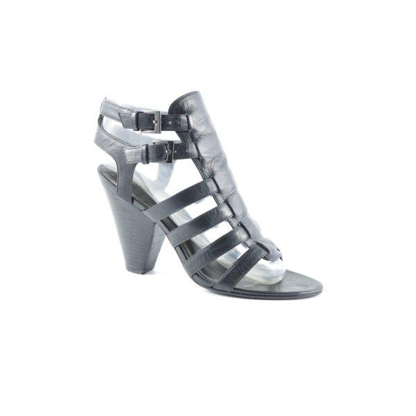 Belmondo Riemchen-Sandaletten schwarz Elegant