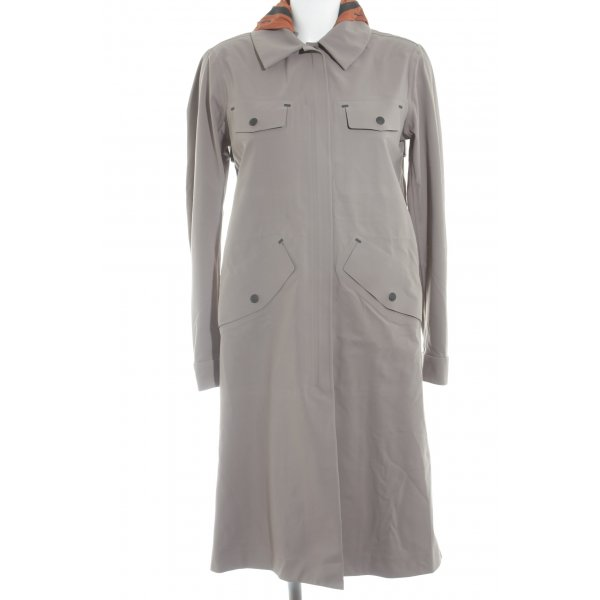 Belstaff Manteau de pluie gris brun style décontracté