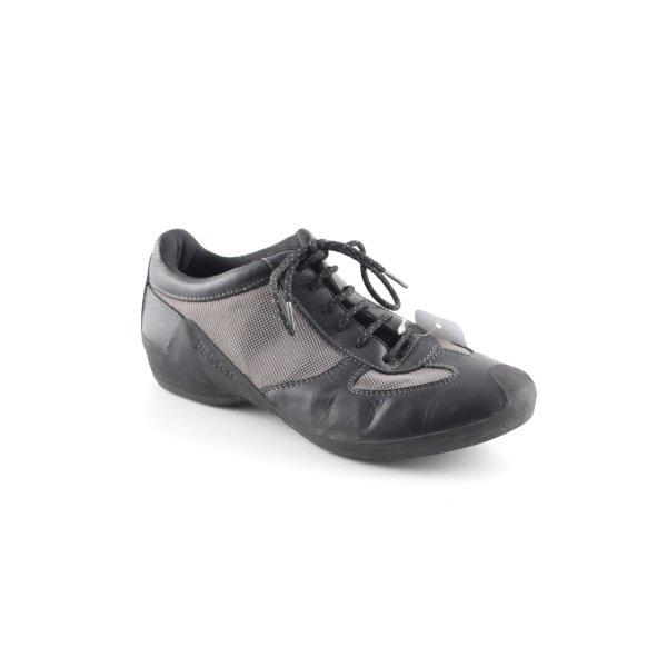 Belstaff Chaussures à lacets noir-chameau style des années 90