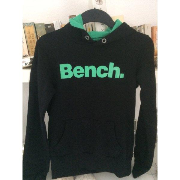 Bench Sweatshirt noir-vert