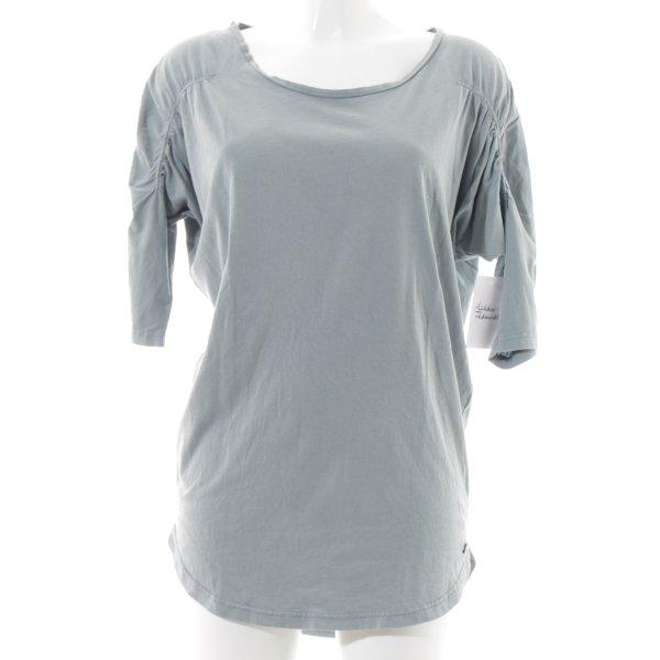 Bench Longshirt graublau Casual-Look