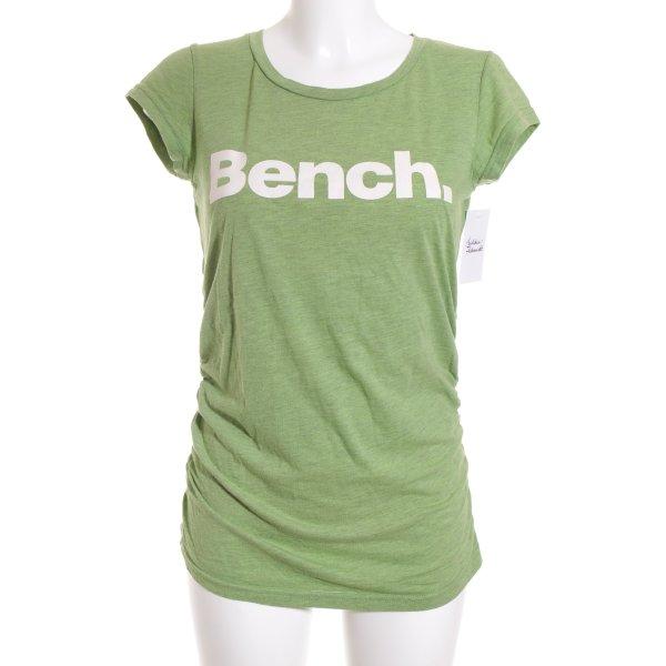 Bench T-Shirt grün Casual-Look