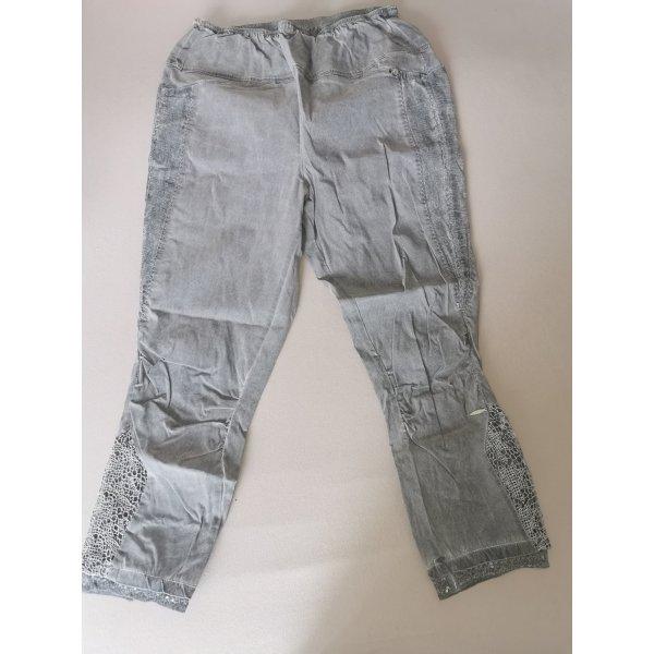 Tredy Pantalon en jersey gris